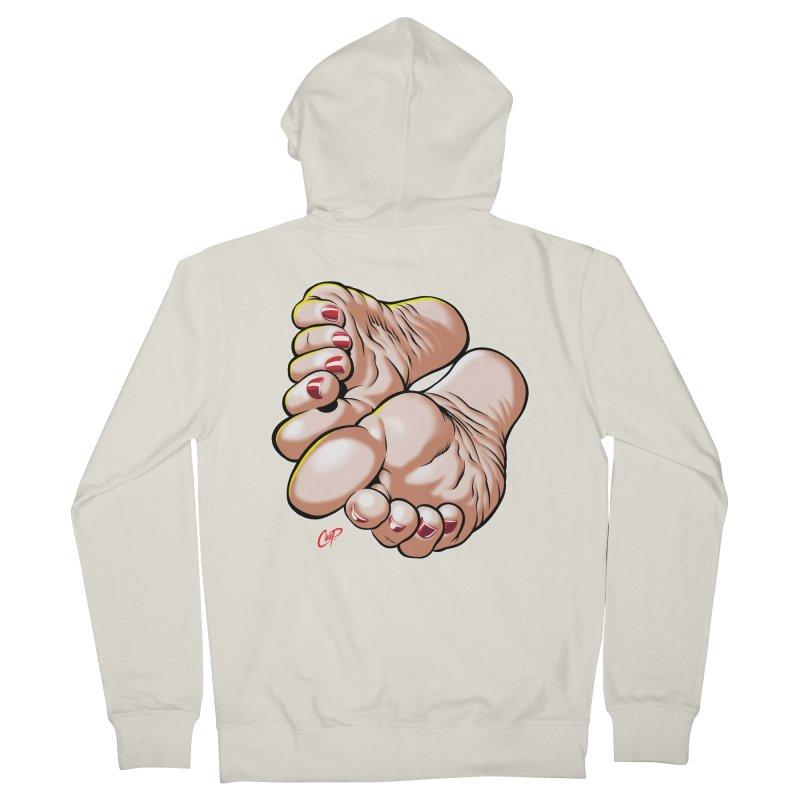FOOT FETISH Men's Zip-Up Hoody by artofcoop's Artist Shop