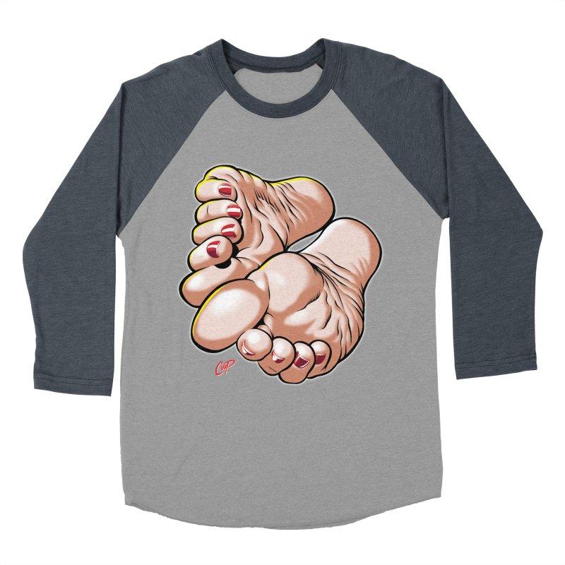 FOOT FETISH Women's Baseball Triblend T-Shirt by artofcoop's Artist Shop