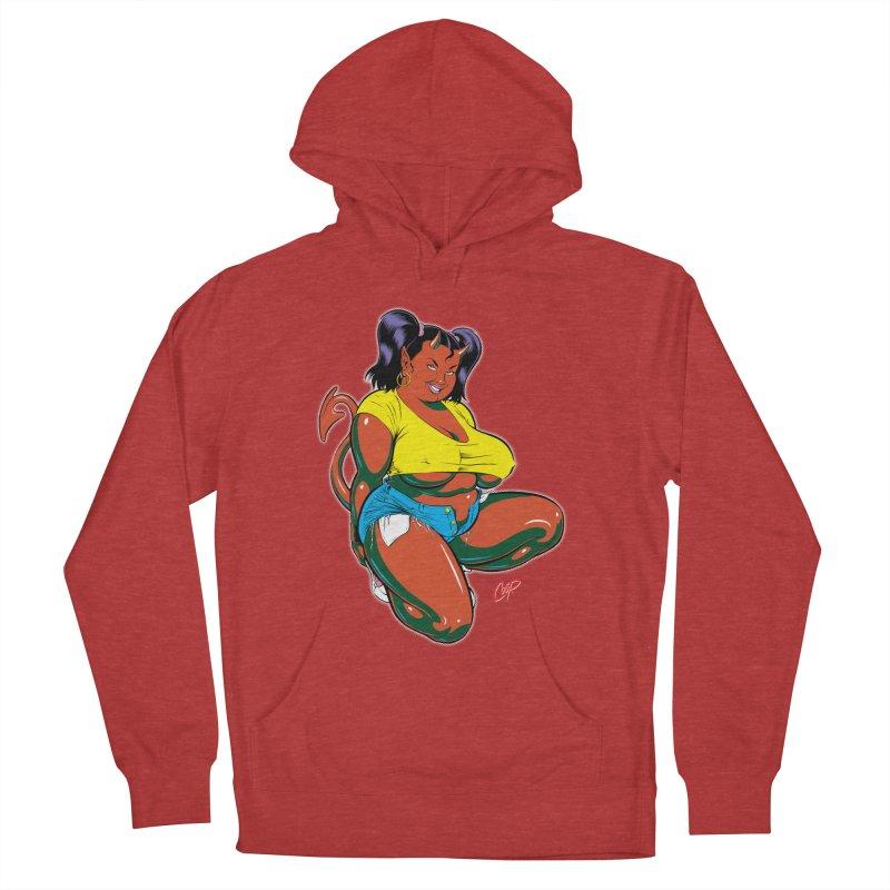 BIG POP GIRL Women's Pullover Hoody by artofcoop's Artist Shop
