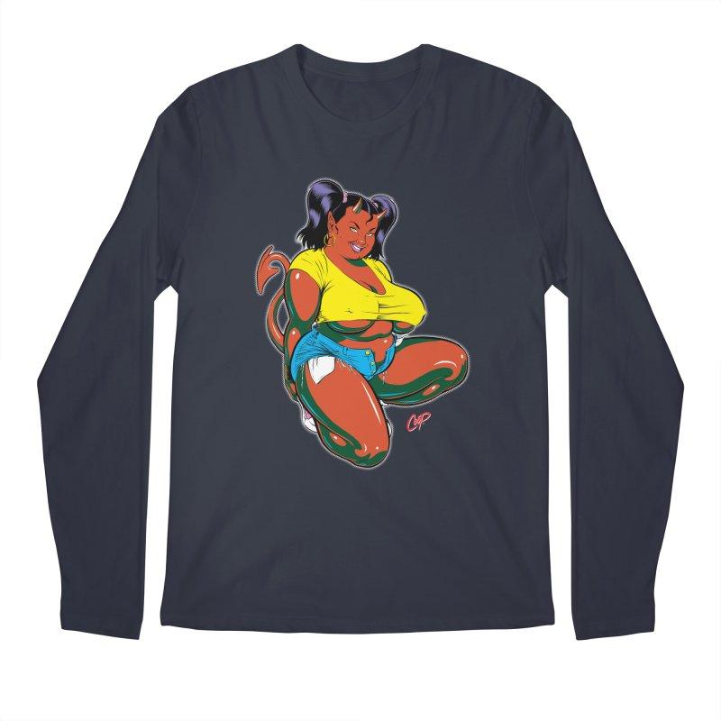 BIG POP GIRL Men's Longsleeve T-Shirt by artofcoop's Artist Shop