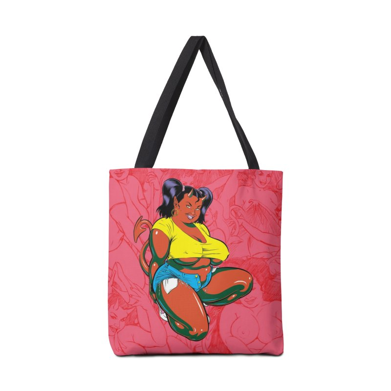 BIG POP GIRL Accessories Bag by artofcoop's Artist Shop