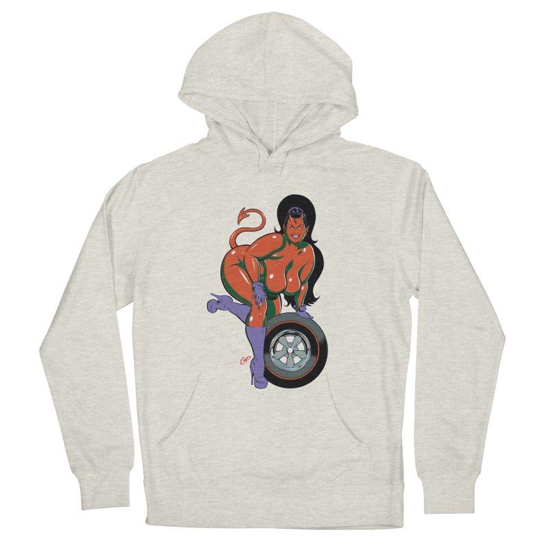 BIG WHEEL GIRL Men's Pullover Hoody by artofcoop's Artist Shop