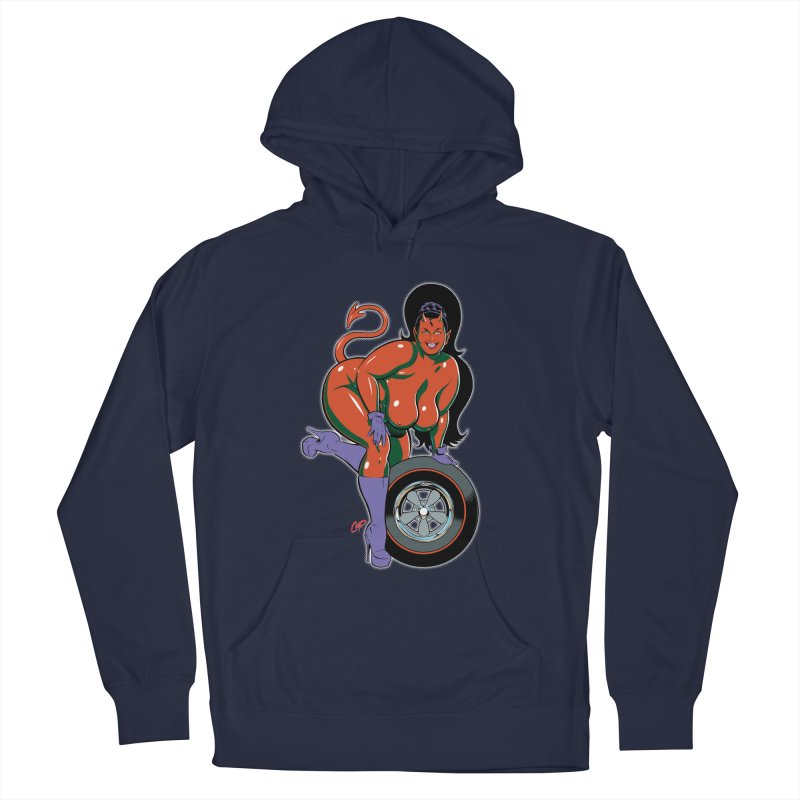 BIG WHEEL GIRL Men's Pullover Hoody by artofcoop's Artist Shop