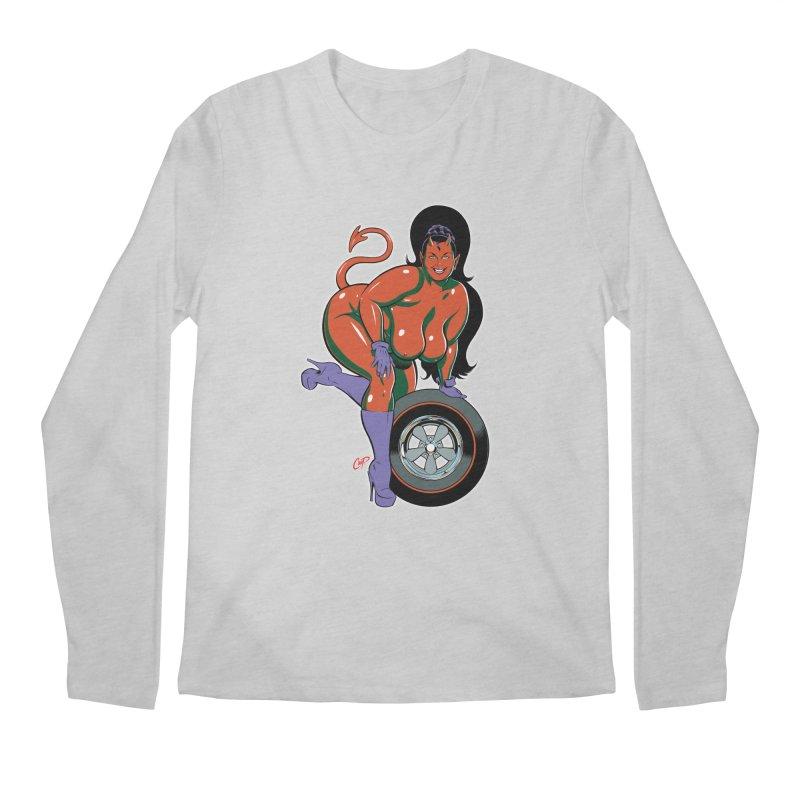 BIG WHEEL GIRL Men's Regular Longsleeve T-Shirt by artofcoop's Artist Shop