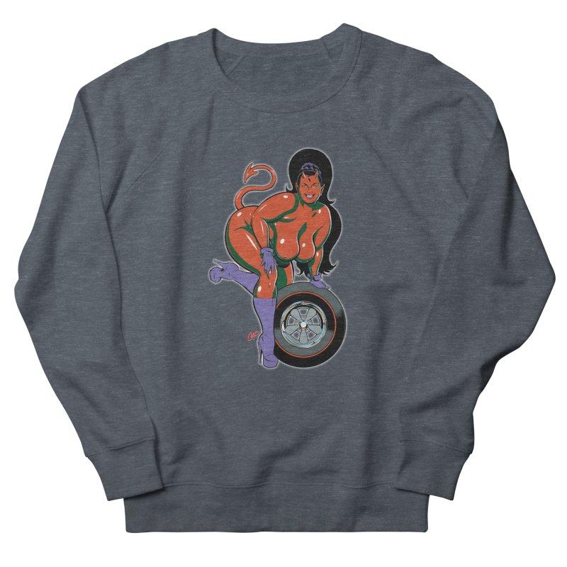 BIG WHEEL GIRL Men's Sweatshirt by artofcoop's Artist Shop