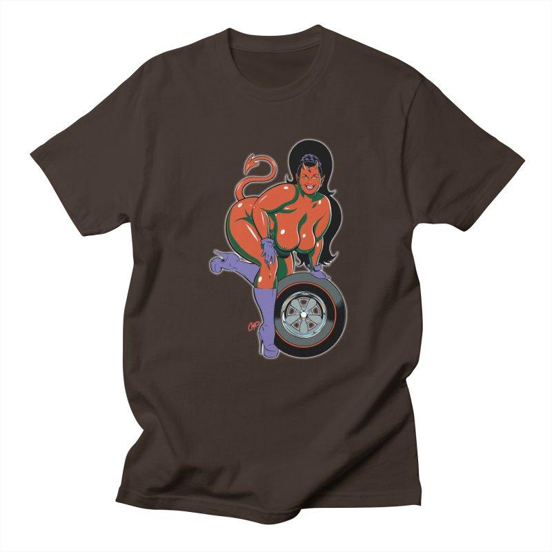 BIG WHEEL GIRL Men's Regular T-Shirt by artofcoop's Artist Shop