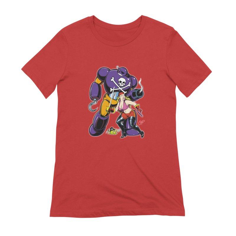 ARRRR! Women's Extra Soft T-Shirt by artofcoop's Artist Shop
