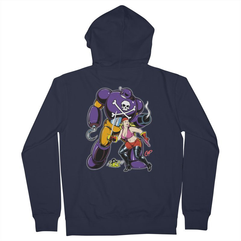ARRRR! Women's French Terry Zip-Up Hoody by artofcoop's Artist Shop
