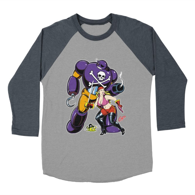 ARRRR! Men's Baseball Triblend Longsleeve T-Shirt by artofcoop's Artist Shop