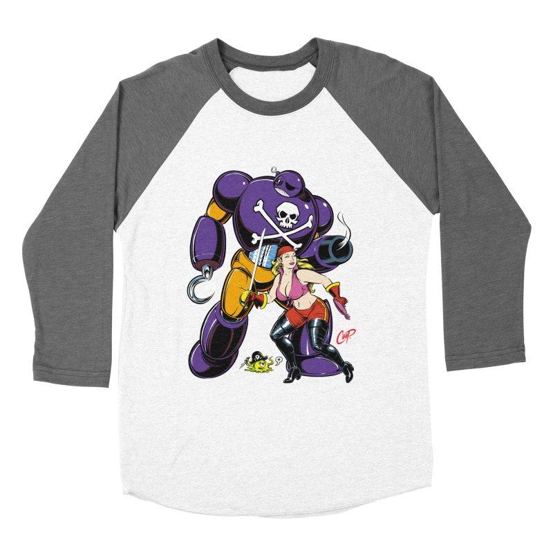 ARRRR! Men's Baseball Triblend T-Shirt by artofcoop's Artist Shop