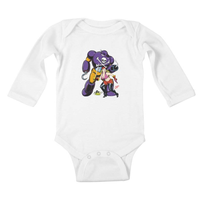 ARRRR! Kids Baby Longsleeve Bodysuit by The Art of Coop