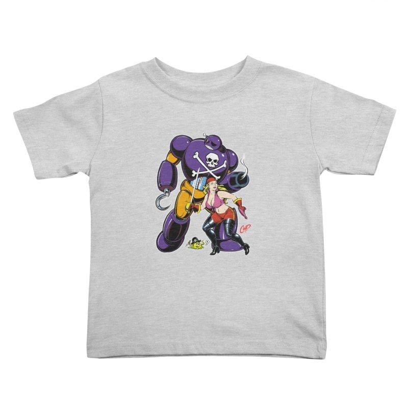 ARRRR! Kids Toddler T-Shirt by artofcoop's Artist Shop