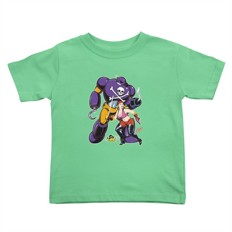 ARRRR! Kids Toddler T-Shirt by artofcoop's Artist Shop