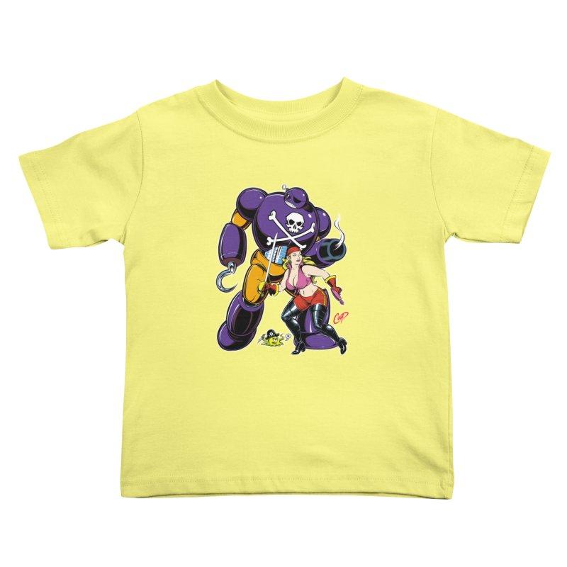 ARRRR! Kids Toddler T-Shirt by The Art of Coop