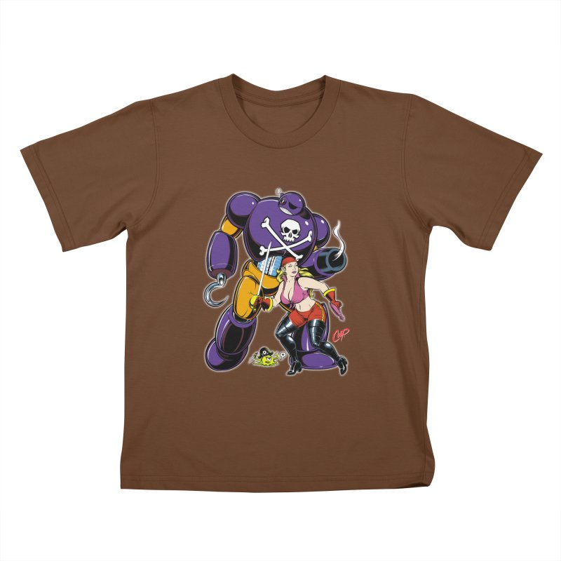 ARRRR! Kids T-shirt by artofcoop's Artist Shop