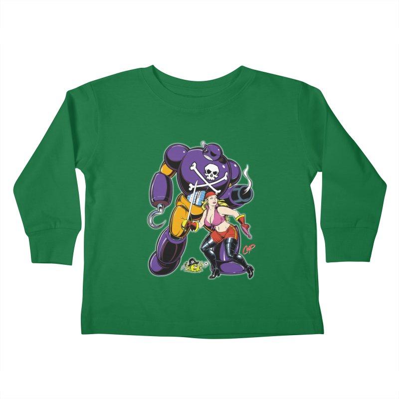 ARRRR! Kids Toddler Longsleeve T-Shirt by artofcoop's Artist Shop