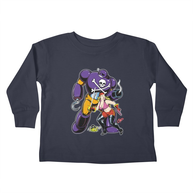 ARRRR! Kids Toddler Longsleeve T-Shirt by The Art of Coop
