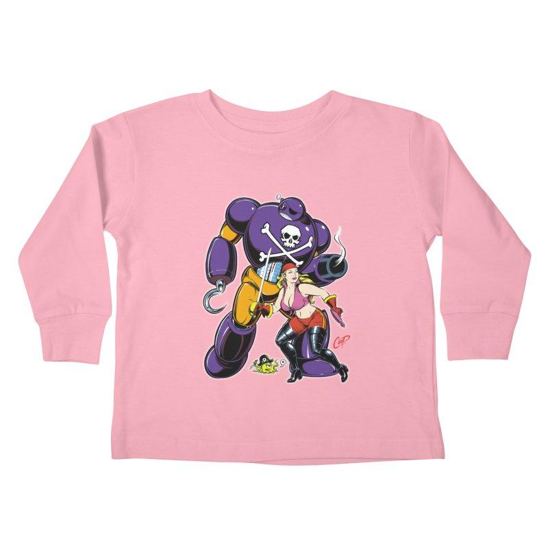 ARRRR! Kids Toddler Longsleeve T-Shirt by The Art of Coop