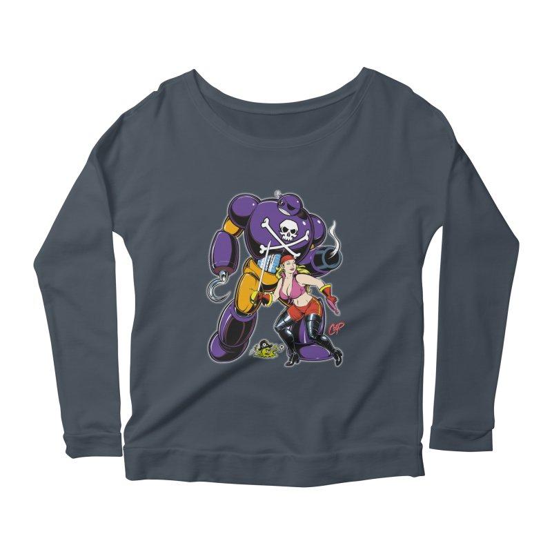 ARRRR! Women's Scoop Neck Longsleeve T-Shirt by artofcoop's Artist Shop