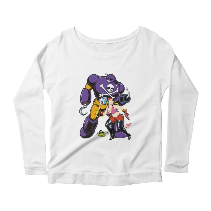 ARRRR! Women's Scoop Neck Longsleeve T-Shirt by The Art of Coop