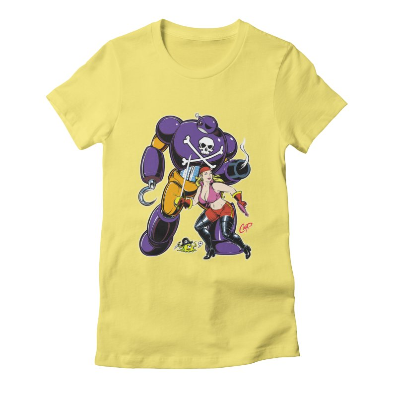 ARRRR! Women's Fitted T-Shirt by The Art of Coop