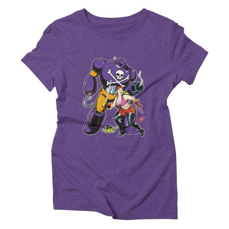 ARRRR! Women's Triblend T-Shirt by artofcoop's Artist Shop