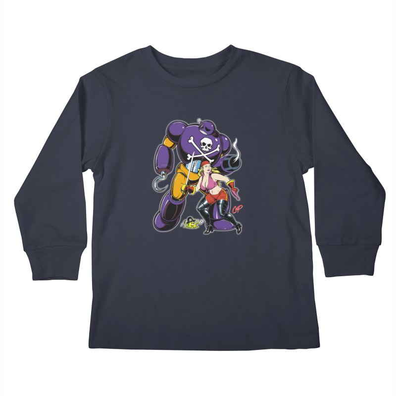 ARRRR! Kids Longsleeve T-Shirt by The Art of Coop