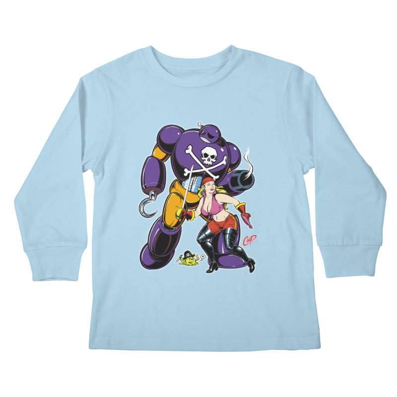 ARRRR! Kids Longsleeve T-Shirt by The Art of Coop