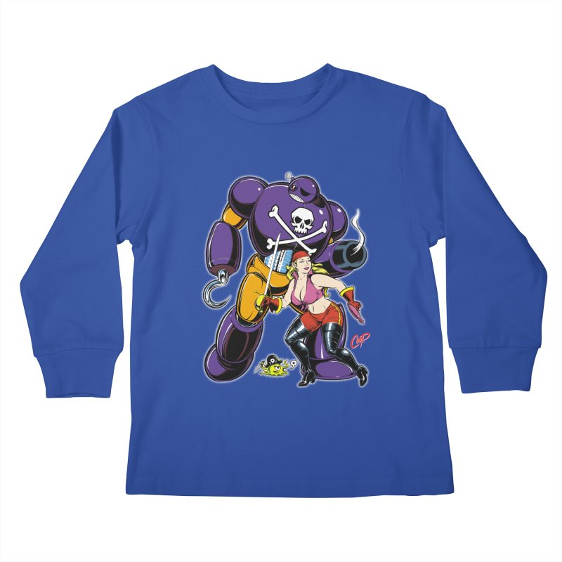 ARRRR! Kids Longsleeve T-Shirt by artofcoop's Artist Shop