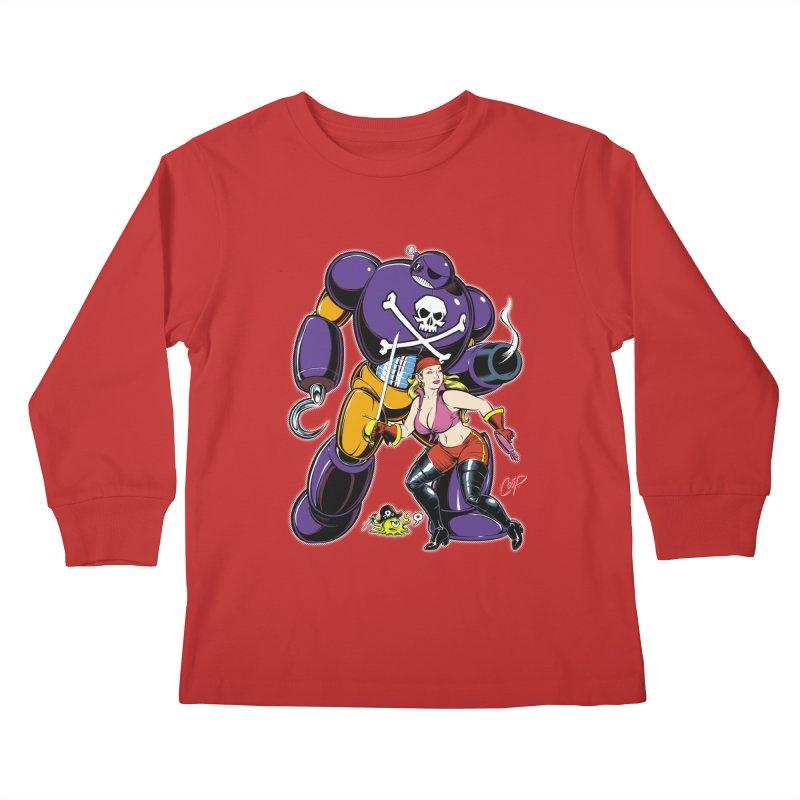ARRRR! Kids Longsleeve T-Shirt by artofcoop's Artist Shop