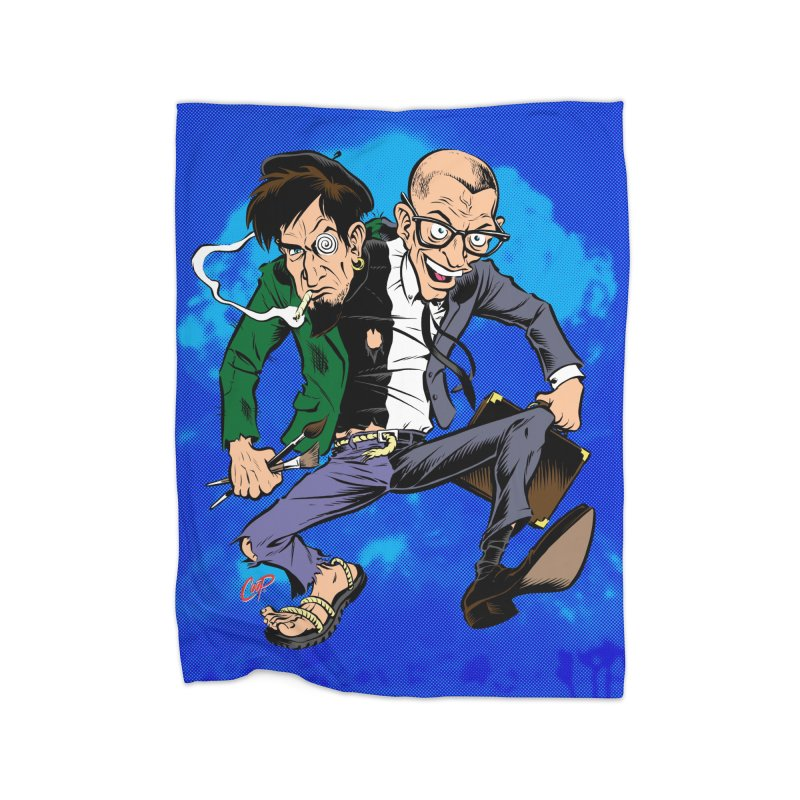 MAD MEN Home Fleece Blanket Blanket by The Art of Coop
