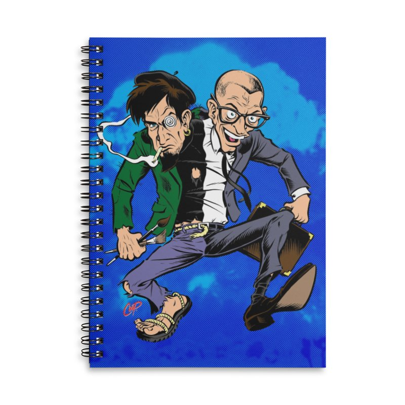 MAD MEN Accessories Lined Spiral Notebook by The Art of Coop