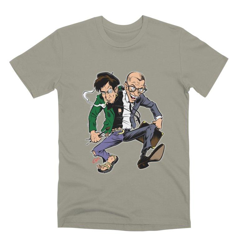 MAD MEN Men's Premium T-Shirt by artofcoop's Artist Shop