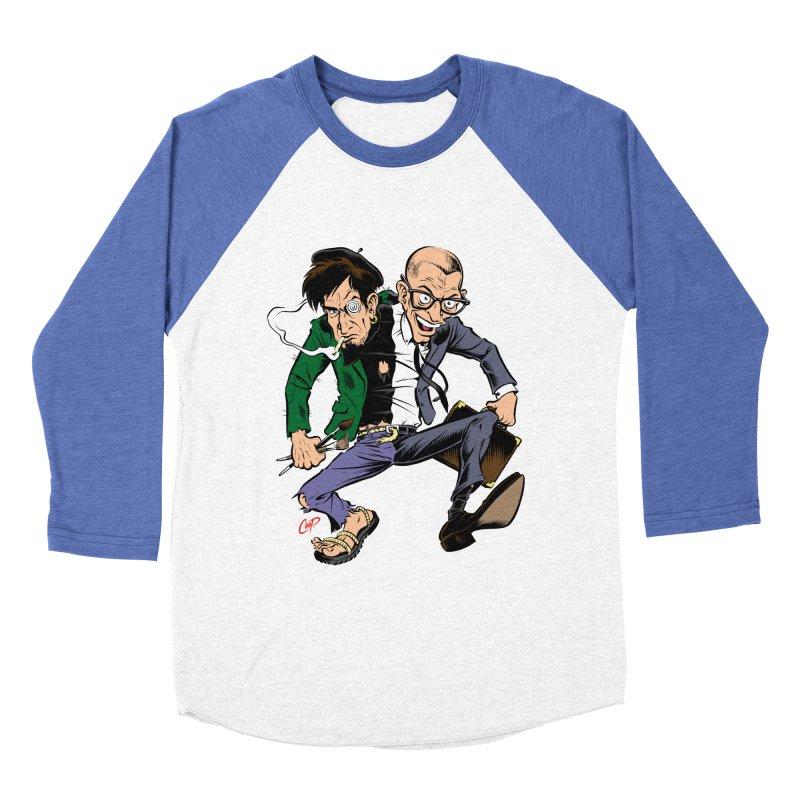 MAD MEN Men's Baseball Triblend Longsleeve T-Shirt by The Art of Coop