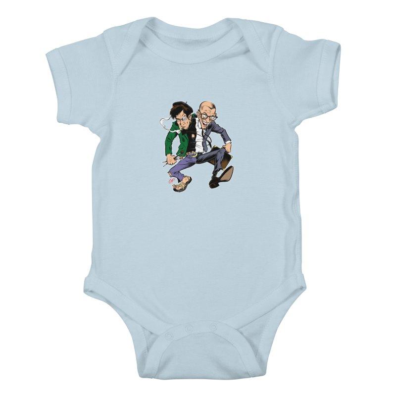 MAD MEN Kids Baby Bodysuit by artofcoop's Artist Shop