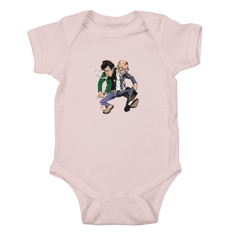 MAD MEN Kids Baby Bodysuit by The Art of Coop