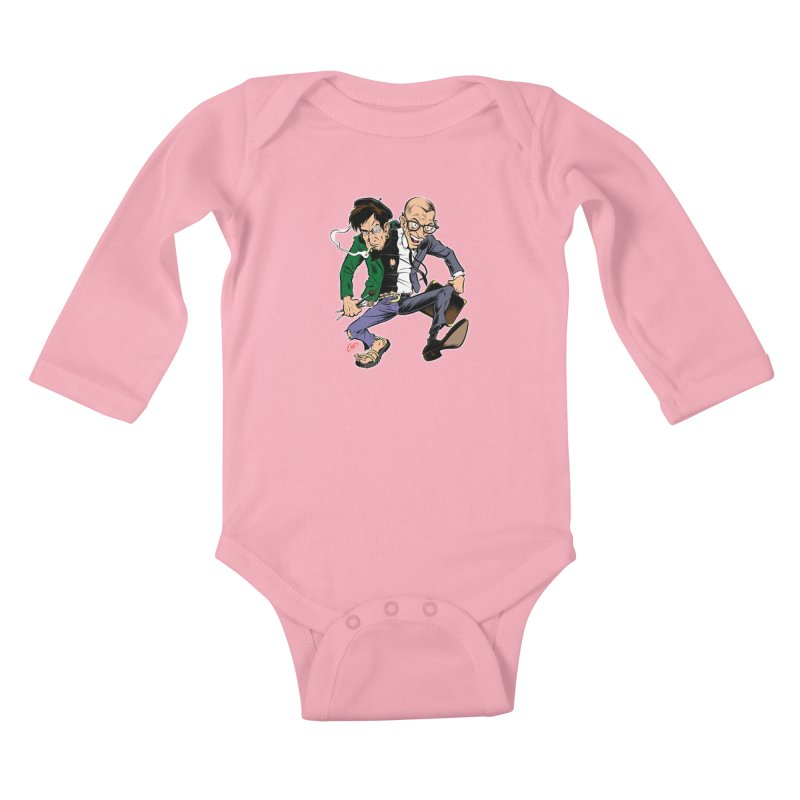 MAD MEN Kids Baby Longsleeve Bodysuit by The Art of Coop