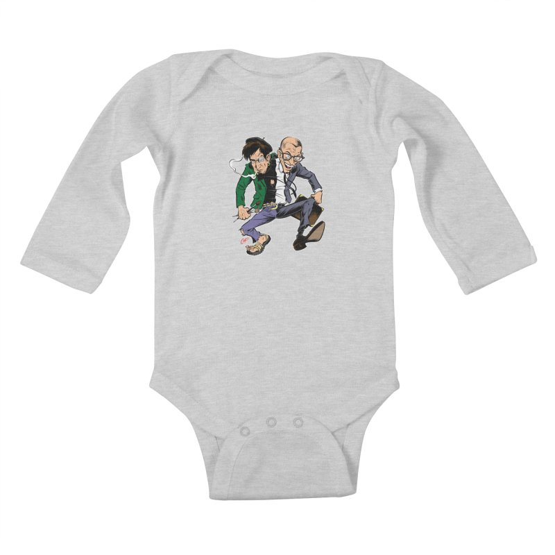 MAD MEN Kids Baby Longsleeve Bodysuit by The Art of Coop