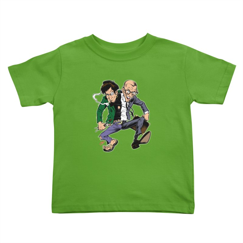 MAD MEN Kids Toddler T-Shirt by The Art of Coop