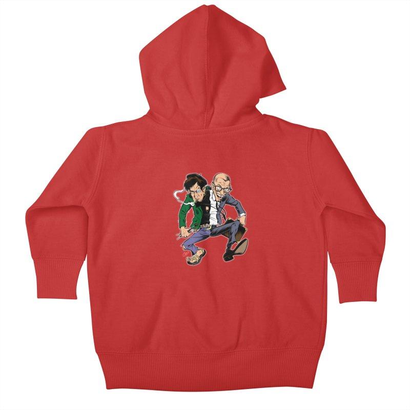 MAD MEN Kids Baby Zip-Up Hoody by The Art of Coop