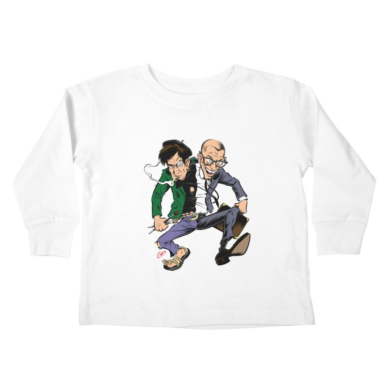MAD MEN Kids Toddler Longsleeve T-Shirt by The Art of Coop