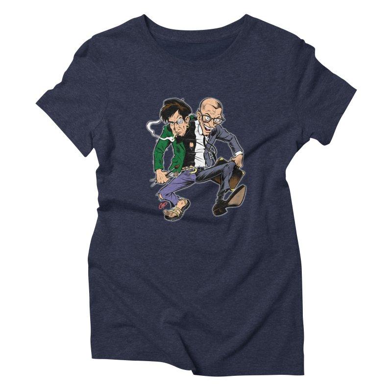 MAD MEN Women's Triblend T-Shirt by artofcoop's Artist Shop