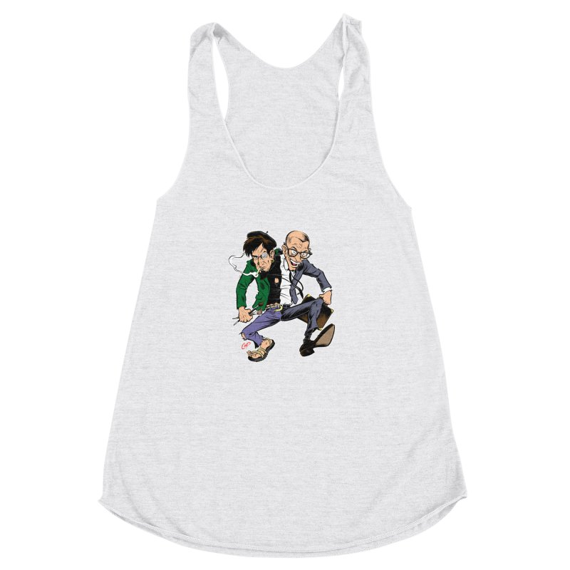 MAD MEN Women's Racerback Triblend Tank by The Art of Coop