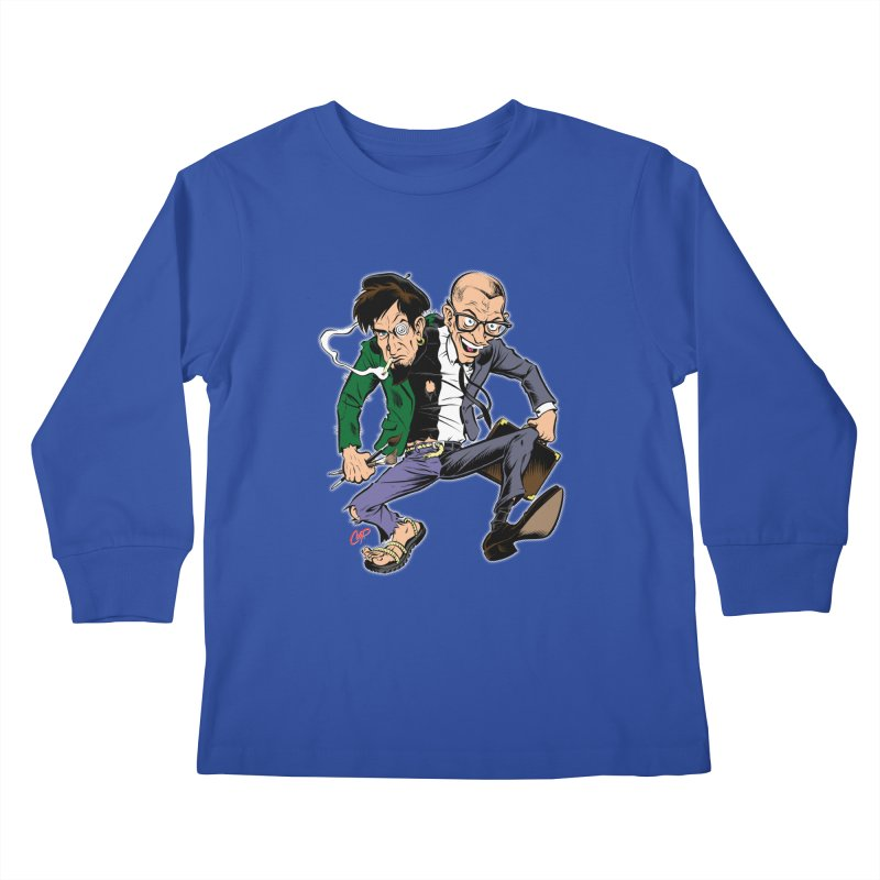 MAD MEN Kids Longsleeve T-Shirt by The Art of Coop