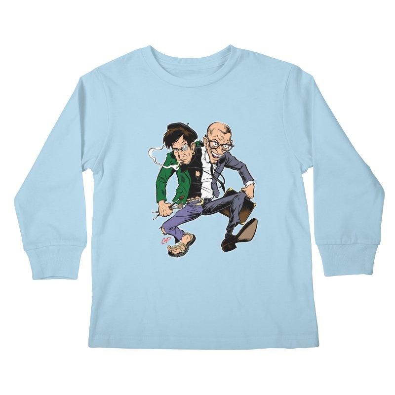 MAD MEN Kids Longsleeve T-Shirt by artofcoop's Artist Shop