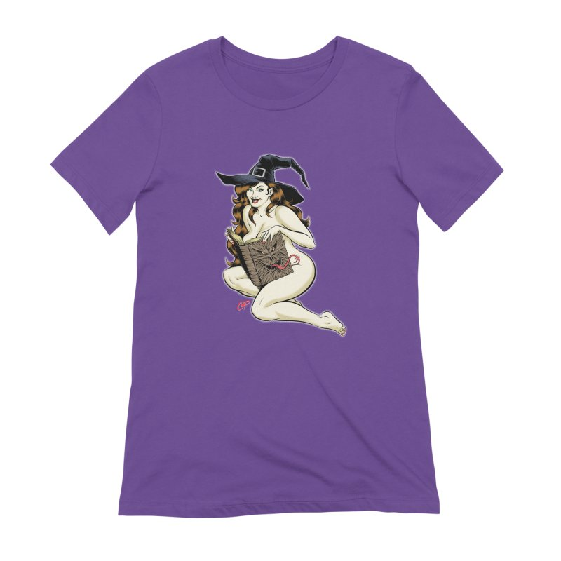 NECRONOMNOMNOM Women's Extra Soft T-Shirt by The Art of Coop