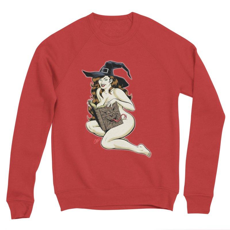 NECRONOMNOMNOM Men's Sponge Fleece Sweatshirt by The Art of Coop