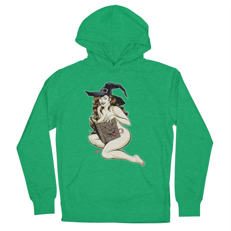 NECRONOMNOMNOM Women's French Terry Pullover Hoody by The Art of Coop