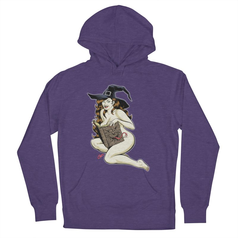 NECRONOMNOMNOM Men's French Terry Pullover Hoody by The Art of Coop