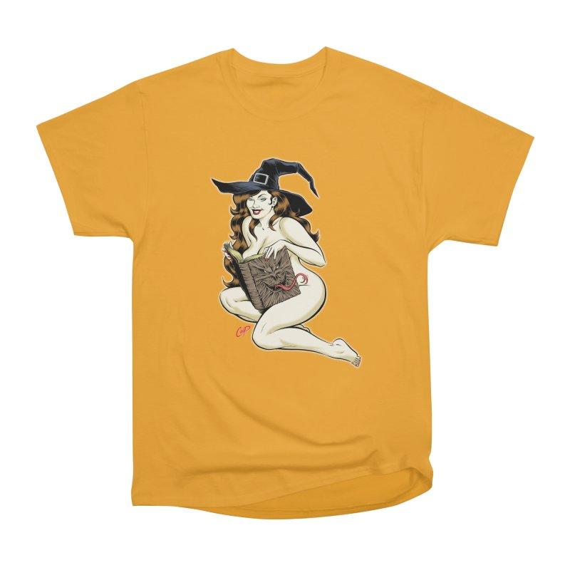 NECRONOMNOMNOM Men's Heavyweight T-Shirt by The Art of Coop